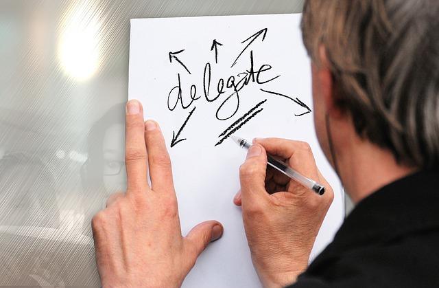 Come delegare come un capo